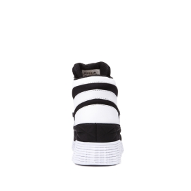 Mens Supra High Top Shoes JAGATI Black/white | AU-70600