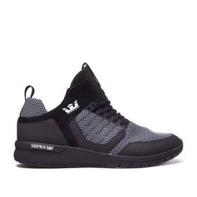 Mens Supra High Top Shoes METHOD Black/White/black | AU-21409