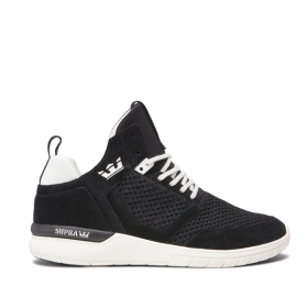 Mens Supra High Top Shoes METHOD Black/off White | AU-34735