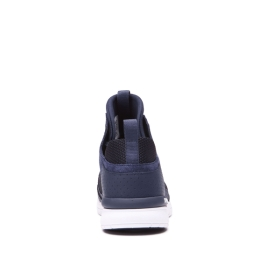 Mens Supra High Top Shoes METHOD Navy/Black/white | AU-52830