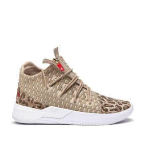 Mens Supra High Top Shoes REASON Animal/white | AU-69384