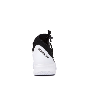 Mens Supra High Top Shoes REASON White/Black/white | AU-21531