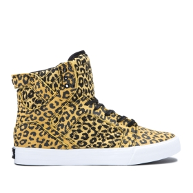 Mens Supra High Top Shoes SKYTOP Animal/white | AU-27540