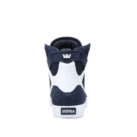 Mens Supra High Top Shoes SKYTOP Navy/Navy/white | AU-43346