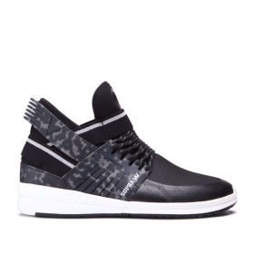 Mens Supra High Top Shoes SKYTOP V Black/white | AU-47768