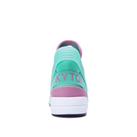 Mens Supra High Top Shoes SKYTOP V Mint/Rose/White | AU-52339