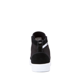 Mens Supra High Top Shoes STACKS MID Black/white | AU-41578