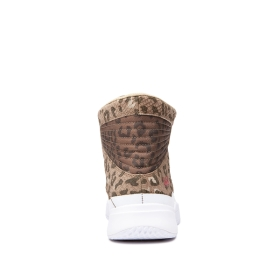 Mens Supra High Top Shoes THEORY Animal/white | AU-20627