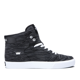 Mens Supra High Top Shoes VAIDER Multi/Black/white | AU-67752