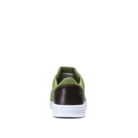 Mens Supra Low Top Shoes CHINO COURT Army Green/Gray | AU-36723