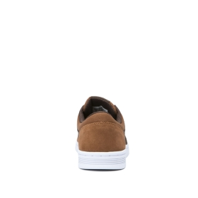 Mens Supra Low Top Shoes CHINO COURT Brown/Demitasse/white | AU-13562