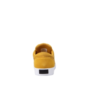 Mens Supra Low Top Shoes CHINO Golden/White | AU-83724