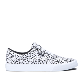 Mens Supra Low Top Shoes COBALT Spot/white | AU-13085