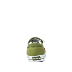 Mens Supra Low Top Shoes CUBA Moss/White/white | AU-93125
