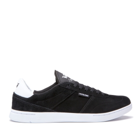 Mens Supra Low Top Shoes ELEVATE Black/white | AU-60587