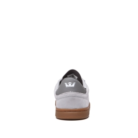 Mens Supra Low Top Shoes ELEVATE Lt Grey/gum | AU-76326