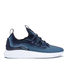 Mens Supra Low Top Shoes FACTOR Navy/Topaz/white | AU-26388