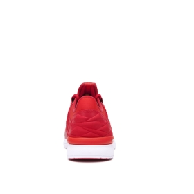 Mens Supra Low Top Shoes FLOW RUN EVO Formula One/Risk Red/white | AU-72536