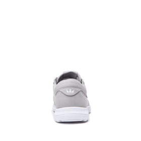 Mens Supra Low Top Shoes HAMMER RUN Grey/White/white | AU-91268