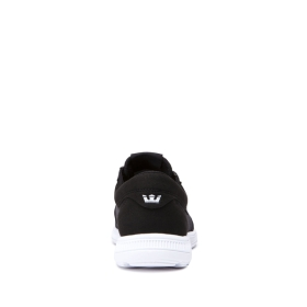 Mens Supra Low Top Shoes HAMMER RUN Black/White/white | AU-53626