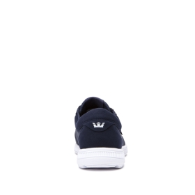 Mens Supra Low Top Shoes HAMMER RUN Navy/White/white | AU-41498