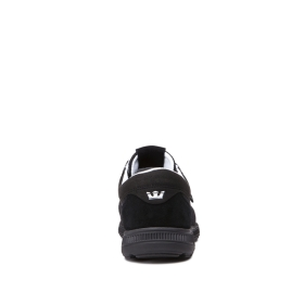 Mens Supra Low Top Shoes HAMMER RUN Black | AU-27776