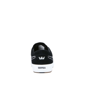 Mens Supra Low Top Shoes HAMMER VTG Black/white | AU-96979