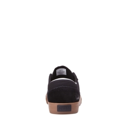 Mens Supra Low Top Shoes MELROSE Black/gum | AU-21256
