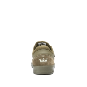 Mens Supra Low Top Shoes SAINT Olive/olive | AU-66649