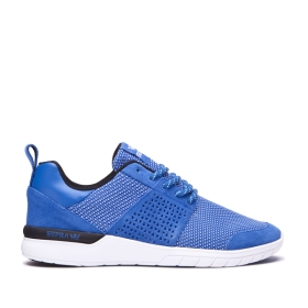 Mens Supra Low Top Shoes SCISSOR Ocean/white | AU-48798