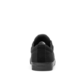 Mens Supra Low Top Shoes STACKS II VULC Black/Black/Black | AU-40898