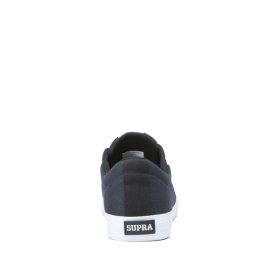 Mens Supra Low Top Shoes STACKS II VULC Navy/White/white | AU-48115