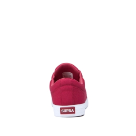 Mens Supra Low Top Shoes STACKS II VULC Rose/white | AU-37531
