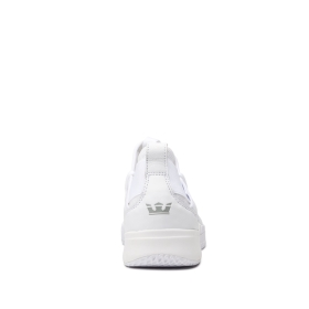 Mens Supra Low Top Shoes TITANIUM White/white | AU-23706