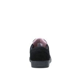Mens Supra Skate Shoes CHINO Black/Mauve/black | AU-35086