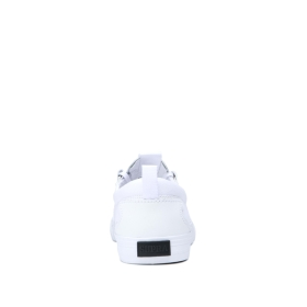 Mens Supra Skate Shoes FLOW White/white/Gum | AU-68881