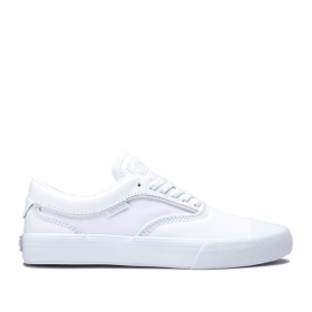 Mens Supra Skate Shoes HAMMER VTG White/white | AU-26490