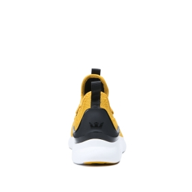 Mens Supra Trainers FACTOR Golden/Black/white | AU-44247