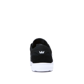 Mens Supra Trainers HAMMER RUN Black Emboss/white | AU-29084