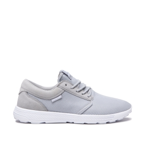 Mens Supra Trainers HAMMER RUN Grey/White/white | AU-83352