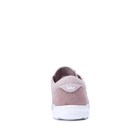 Mens Supra Trainers HAMMER RUN Mauve/white | AU-56639