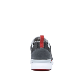 Mens Supra Trainers SCISSOR Dk Grey/Risk Red/white | AU-79970
