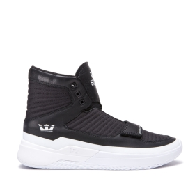 Mens Supra Trainers THEORY Black/White/white | AU-60337