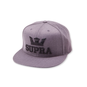 Supra ABOVE SNAP Hats Charcoal Heather | AU-86176