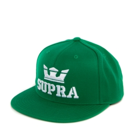 Supra ABOVE SNAP Hats Green/white | AU-50775