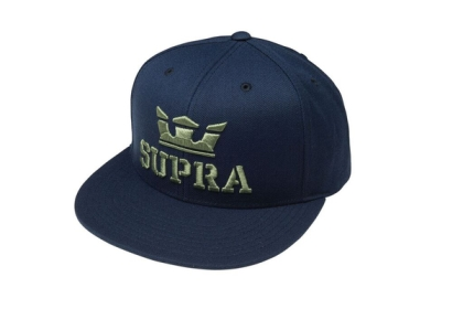 Supra ABOVE SNAP Hats Navy | AU-15366