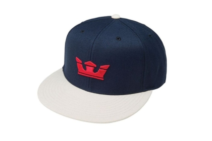 Supra ICON SNAP Hats Navy/Lt Gry | AU-75283