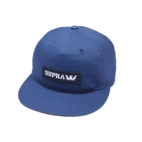 Supra MARK PATCH SNAP Hats Navy | AU-87549