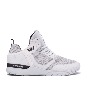 Womens Supra High Top Shoes METHOD Cool Grey/Black/cool Grey | AU-48074