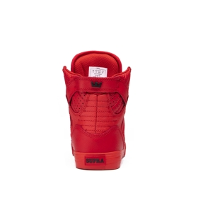 Womens Supra High Top Shoes SKYTOP Red | AU-56991
